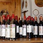 eine unserer Weinproben