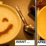 Keep the smile! excellent spiced chai latte!