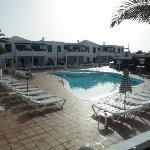 The pool at Calas 3