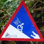 Warnung in der Krokodilfarm