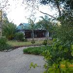 Hlangana Lodge Eingangsbereich