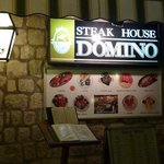 Outside Steak House Domino