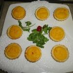 mini custard tarts