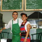 Norm and Wife Isabel shortly after opening in 2003