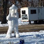 Snow Sculpting at Sinni 3
