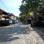 strada che porta al rumah roda kajeng road
