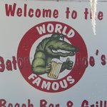 They do serve some fantastic tasting gator!