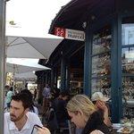 Monsieur Marcel's wine bar on the Promenade in Santa Monica. j
