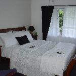 La chambre de la Lake View Suite