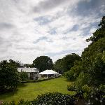 Garden marquee for weddings and parties