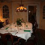 Formal dining room for Breakfast