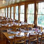 Main Dining Room Overlooking Mountains