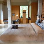 One of the two bedrooms of the Dalem Jiwo Suite