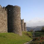 Conwy Castle is a short drive away.