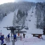 Lift nearest the Ski school.