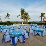 Tropical beachfront weddings