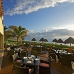 Dine with vistas of the ocean