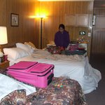 this is the only photo we took of this horrid motel!