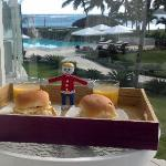 Mr. Bill has Breakfast at Millenium