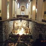 "Interno del Santuario e, ""Sacro Tugurio""."