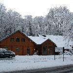 la Maison d'Hôtes en hiver