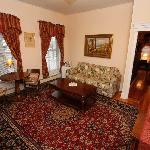 Mrs. Beal's Suite. Front parlor, sitting room.
