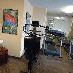 Free gym facilities available 24/7