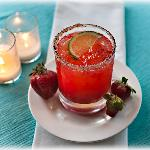 Lakeview Orchard Strawberry Margarita -- Photo credit Nathaniel Johnston