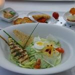 Caesar Salad main plate