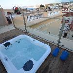 roof terrace hot tub