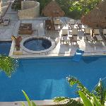 Excellence club pool from our room