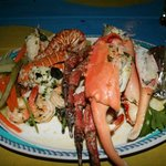 """The infamous seafood platter""!!!!!"
