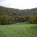 The OEI Golf course, 9th hole.