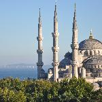 5 minutes walk from Blue Mosque