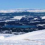 Loch Morlich from the Cairngorm Mountain top