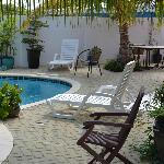Another view of the pool, plenty room to relax