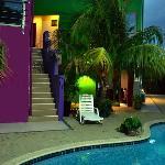 Pool / Garden side Studio entrance