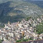 Vue générale du village de Sorge