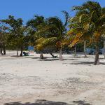 Hugh Parkey's private island base