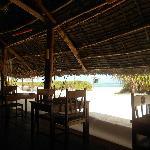 Sala da pranzo dell'Hakuna Makiwe