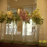 Freshcut flowers in the lobby