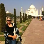 the very beautiful Taj Mahal