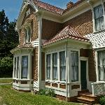 The historic Hughes House at Cape Blanco State Park