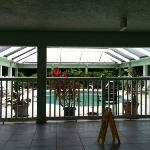 view of the indoor 'heated' pool
