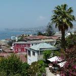 Blick vom Zimmer über die Bucht für 850 Euro/Nacht