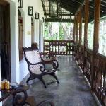 The balcony outside the 2 Mango Suites