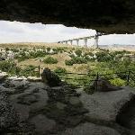 Cripta del Peccato Originale - esterno della grotta