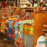marché local de fort de france