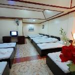 Family room No. 14 for 12 pax, 2 toilet & bath,cable TV, fully airconditioned