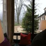 wintergarden view towards the parc